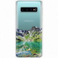 Силиконовый чехол BoxFace Samsung G973 Galaxy S10 Green Mountain (35879-cc69)