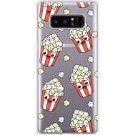 Силиконовый чехол BoxFace Samsung N950F Galaxy Note 8 с 3D-глазками Popcorn (35949-cc75)