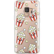 Силиконовый чехол BoxFace Samsung G960 Galaxy S9 с 3D-глазками Popcorn (36194-cc75)