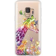 Силиконовый чехол BoxFace Samsung G960 Galaxy S9 Colorful Giraffe (36194-cc14)
