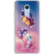 Силиконовый чехол BoxFace Xiaomi Redmi 5 Butterflies (935031-rs19)