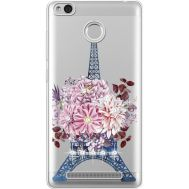 Силиконовый чехол BoxFace Xiaomi Redmi 3s Eiffel Tower (935081-rs1)