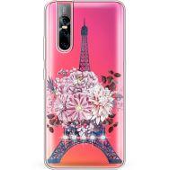 Силиконовый чехол BoxFace Vivo V15 Pro Eiffel Tower (937609-rs1)