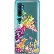 Силиконовый чехол BoxFace Xiaomi Mi Note 10 / Mi Note 10 Pro Colorful Giraffe (38538-cc14)