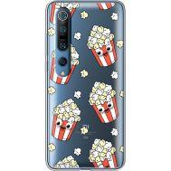 Силиконовый чехол BoxFace Xiaomi Mi 10 Pro с 3D-глазками Popcorn (39442-cc75)