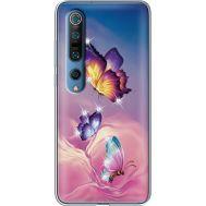 Силиконовый чехол BoxFace Xiaomi Mi 10 Pro Butterflies (939442-rs19)