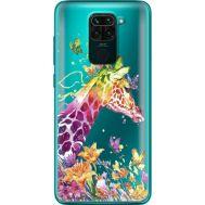 Силиконовый чехол BoxFace Xiaomi Redmi 10X Colorful Giraffe (40367-cc14)