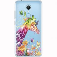 Силиконовый чехол BoxFace Xiaomi Redmi 5 Colorful Giraffe (35031-cc14)