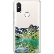 Силиконовый чехол BoxFace Xiaomi Mi 8 SE Green Mountain (36190-cc69)