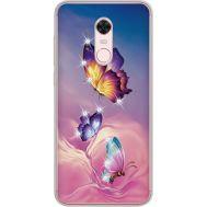 Силиконовый чехол BoxFace Xiaomi Redmi 5 Plus Butterflies (934969-rs19)