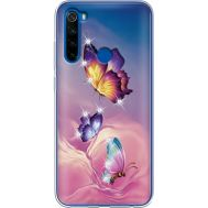 Силиконовый чехол BoxFace Xiaomi Redmi Note 8T Butterflies (938533-rs19)