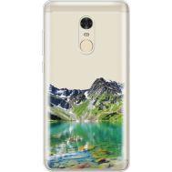 Силиконовый чехол BoxFace Xiaomi Redmi Note 4 Green Mountain (35033-cc69)