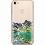 Силиконовый чехол BoxFace Xiaomi Redmi Note 5A Prime Green Mountain (35076-cc69)