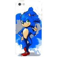 Силиконовый чехол Remax Apple iPhone 5 / 5S Sonic Blue