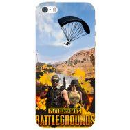 Силиконовый чехол Remax Apple iPhone 5 / 5S Pubg parachute