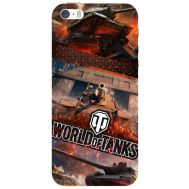 Силиконовый чехол Remax Apple iPhone 5 / 5S World Of Tanks