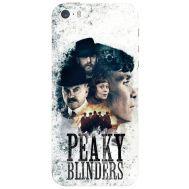 Силиконовый чехол Remax Apple iPhone 5 / 5S Peaky Blinders Poster
