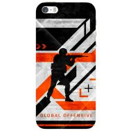 Силиконовый чехол Remax Apple iPhone 5 / 5S CS:Go Asimov