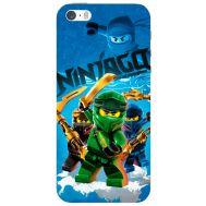 Силиконовый чехол Remax Apple iPhone 5 / 5S Lego Ninjago