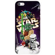 Силиконовый чехол Remax Apple iPhone 5 / 5S Lego StarWars