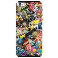 Силиконовый чехол Remax Apple iPhone 5 / 5S CS:Go Stickerbombing