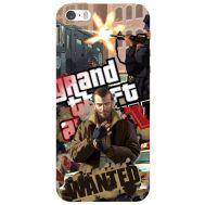 Силиконовый чехол Remax Apple iPhone 5 / 5S GTA 4