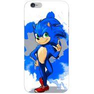Силиконовый чехол Remax Apple iPhone 6 4.7 Sonic Blue