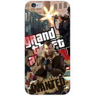 Силиконовый чехол Remax Apple iPhone 6 4.7 GTA 4