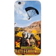 Силиконовый чехол Remax Apple iPhone 6 Plus 5.5 Pubg parachute