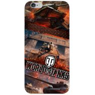 Силиконовый чехол Remax Apple iPhone 6 Plus 5.5 World Of Tanks
