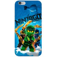 Силиконовый чехол Remax Apple iPhone 6 Plus 5.5 Lego Ninjago