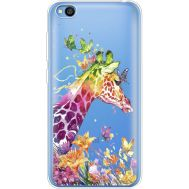 Силиконовый чехол BoxFace Xiaomi Redmi Go Colorful Giraffe (36212-cc14)