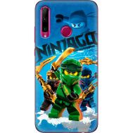 Силиконовый чехол Remax Huawei Honor 10i Lego Ninjago