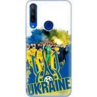 Силиконовый чехол Remax Huawei Honor 9X Ukraine national team