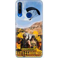 Силиконовый чехол Remax Huawei Honor 9X Pubg parachute