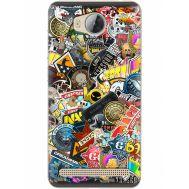 Силиконовый чехол Remax Huawei Ascend Y3 2 CS:Go Stickerbombing