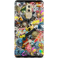 Силиконовый чехол Remax Huawei GR5 2017 CS:Go Stickerbombing