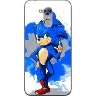 Силиконовый чехол Remax Huawei Honor 6A Sonic Blue