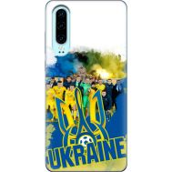Силиконовый чехол Remax Huawei P30 Ukraine national team