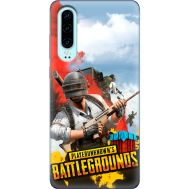 Силиконовый чехол Remax Huawei P30 PLAYERUNKNOWN'S BATTLEGROUNDS