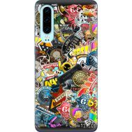 Силиконовый чехол Remax Huawei P30 CS:Go Stickerbombing