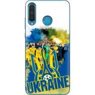Силиконовый чехол Remax Huawei P30 Lite Ukraine national team