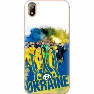 Силиконовый чехол Remax Huawei Y5 2019 Ukraine national team