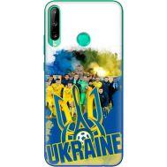 Силиконовый чехол Remax Huawei P40 Lite E Ukraine national team