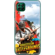 Силиконовый чехол Remax Huawei P40 Lite PLAYERUNKNOWN'S BATTLEGROUNDS