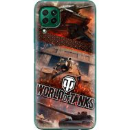 Силиконовый чехол Remax Huawei P40 Lite World Of Tanks