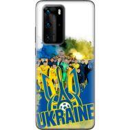 Силиконовый чехол Remax Huawei P40 Pro Ukraine national team