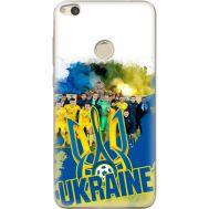Силиконовый чехол Remax Huawei P8 Lite 2017 Ukraine national team