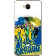Силиконовый чехол Remax Huawei Y5 2017 Ukraine national team
