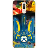 Силиконовый чехол Remax Huawei Mate 10 Lite UA national team
